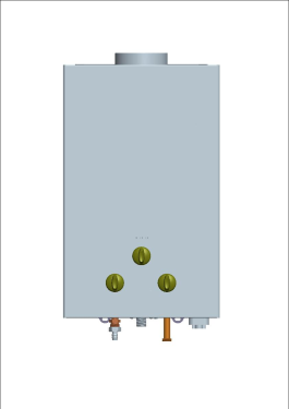 EZ Outdoor Tankless Water Heater - 4.5 GPM - Natural Gas