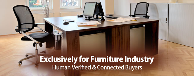 Exclusively for Furniture Industry Human Verified & Connected Buyers