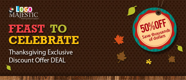 Feast To Celebrate Thanksgiving Exclusive Discount Offer DEAL 50% OFF Save thousands of dollars