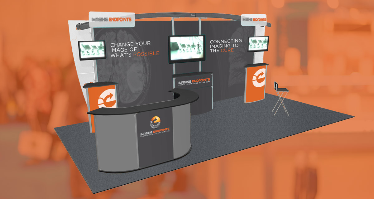 Sparkle of a Tradeshow Booth Design depicting Exhibitor Profile & Triggering Engagement