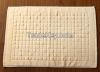 100% cotton hotel used floor towel floor mat,