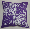 More discount hot sale laser cut felt pillow cover with hiddzen zipper cushion cover
