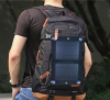 Print Logo Mobile Solar Power Charger 2500mah with Solar panel: 6W