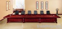 деревянная таблица конференции Cbw-60m-05 облицовки