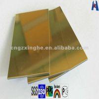 плакирование Acp зеркала внешней стены золота