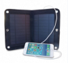 2017 Camping Use Big Capacity Mobile Phone Solar Charger with sucker and lithium battery 2600mah