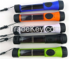 0.3W Waterproof Solar Flashlight, Made of ABS Plastic