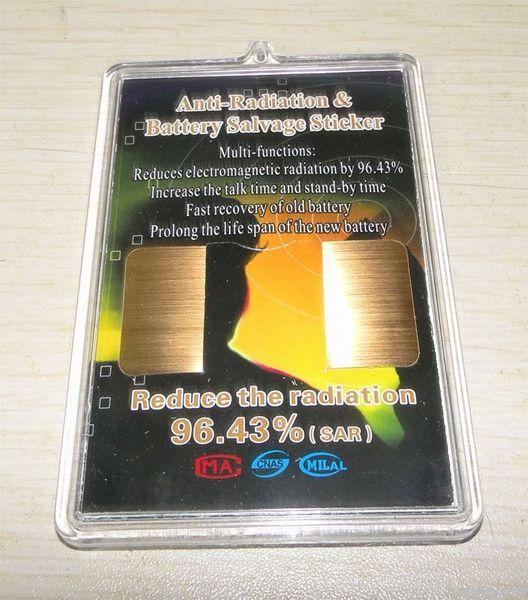 Energy saving anti radiation phone sticker
