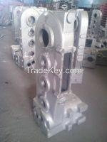 Экспертная отливка утюга песка смолаы поставщика для оборудования металлургии