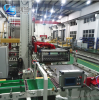 Fully Automatic single column palletizer machine for stacking big bottles and 5 gallon bottles
