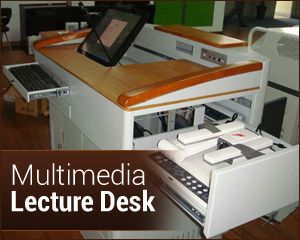 Multimedia Lecture Desk