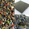 100% pure soft PVC cable regrind material from selected cable lumps, dry, homogeneous, light gray, PVC contens 100%
