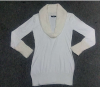 Garment stocklots of ladies pullover sweater