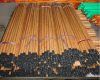 PVC wooden broom sticks handles (Eucalyptus type)