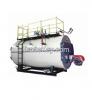 Gas/oil fired steam boiler