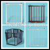 Pressure Fit Metal Safety Gate, Pressure Fit Metal and Wood Safety Gate, Metal and Fabric Playpen, Screw Fit Extending Metal Safety Gate