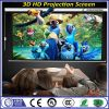 High Gain Electric Projection Screen 3D Matte White Fabric Screen