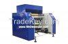 Five shaft cling film rewinding machine