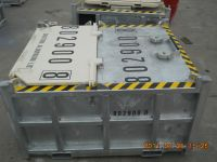 Sell drilling cutting box with galvanized surface-Dalian CIMC Logistics Equipment Co., LTD