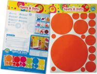 Spots & Dots Wall Graphics-Bright Star Kids