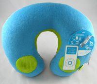 neck pillow speaker, travel pillow, U neck pillow, neck support speaker