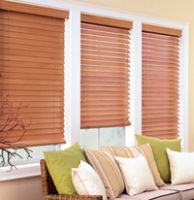 Sell 2 REAL WOOD WINDOW BLIND BLINDS window cover 2 2inch 2 inch