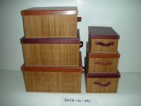 Sell Set of 6 Storage Boxes-SHANTOU JIAHONG CRAFT FACTORY CO., LTD.