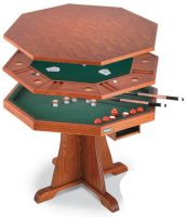 High Quality Sell 3 In 1 Bumper Pool/dinner/poker Table