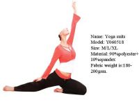 Sell Yoga Suits 5-xiamen najia trade & commecial co.,ltd