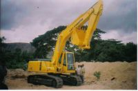 Sell used excavators Komatsu and tata Hitachi 200