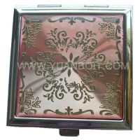 Sell metal compact mirrors, makeup mirrors, cosmetic mirrors-YUANBO INDUSTRIAL AND TRADING CO., LTD
