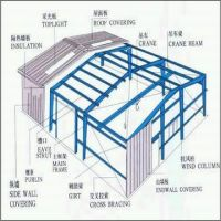 Sell Steel Construction Warehouse Steel Construction