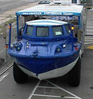 Seling LARC V amphibious vehicle