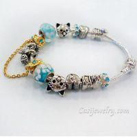 Finished Pandora Bracelet