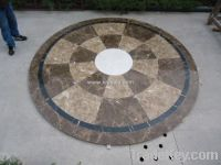 Sell round water jet stone floor medallions sjm001-XIAMEN SAJA IMP. &amp; EXP. CO., LIMITED