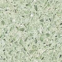 Light Green Quartz Stone Slab Kitchen Countertop Floor Tile - YQ0942    Green Quartz Countertops