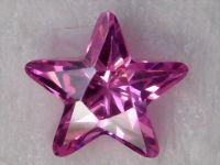 sell cubic zirconia, gemstone, cz, star shape