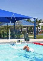 Swim tether stationary swimming exercise equipment for - Exercise equipment for swimming pools ...