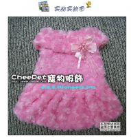 Sell new dog clothes(princess skirt with flower Petals)-Z.Z.K.Pioneers, Inc