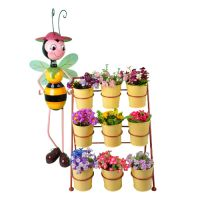 Sell metal flower pot-QuanZhou Hoosam Gifts Manufacture