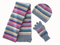 Free Knitting Patterns Hats Scarves Gloves : Sell wool knitting hats, scarves, gloves By Zhen Jiang To Beauty Co., Ltd, China