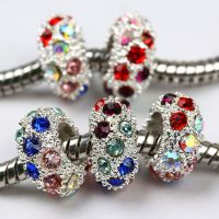 Sell Mix Color Crystal Glass Spacer Beads For Pandora-Guangzhou Ayliss Jewelry Co., Ltd