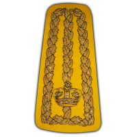 Ornamental Shoulder Decoration Insignia Rank Epaulettes