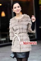 Sell rabbit fur coat, vest, jacket, outerwear-Zaoqiang Affable fur Co., Ltd