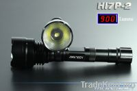 10W SSC P7 900LM 18650 Superbright Aluminum LED Flashlight (HI7P-2)-Electronic Systems Technology International Co., Ltd