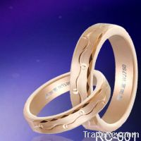 Offer Rose Gold Plated Tungsten Rings-Hoongkong Wan Ru Yi Jewelry Limited
