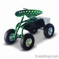 Rolling Garden Seat On Wheels With Tool Tray Amp Turnbar