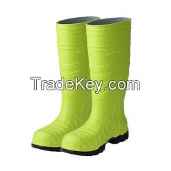 Korean Elatan Safety Boots (Green)