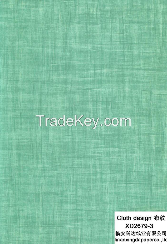 XD 2679 Cloth Design, Decorative Paper, MDF