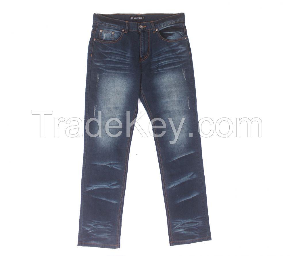 washing jeans,